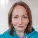 Люда Егорова - инструктор по роликам