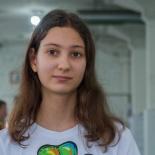 Ксюша Кац - инструктор-стажер по роликовым конькам