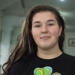Маша Болюнова - инструктор-стажер по роликовым конькам