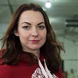 Юля Королёва - старший инструктор по роликам